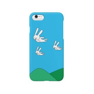 そらとぶうさぎ Smartphone cases