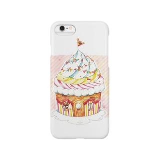2LDKカップケーキ Smartphone cases