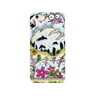 山と伝承 Smartphone cases
