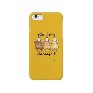 WeLoveKaraage! Smartphone cases