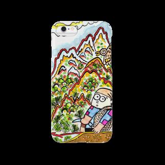 とよだ 時【ゆ-もぁ-と】の山旅漫画(2)  スマートフォンケース