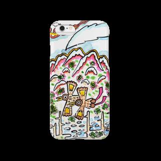 とよだ 時【ゆ-もぁ-と】の山旅漫画(3) スマートフォンケース