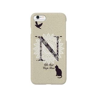 Carpe(ブラックホワイト):iPhone6 Smartphone cases