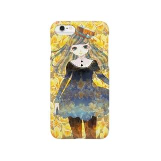 フリージアと少女 Smartphone cases