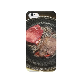 飯テログッズ1〜牛タン〜 Smartphone cases