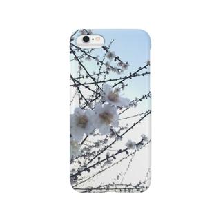 白梅 Smartphone cases