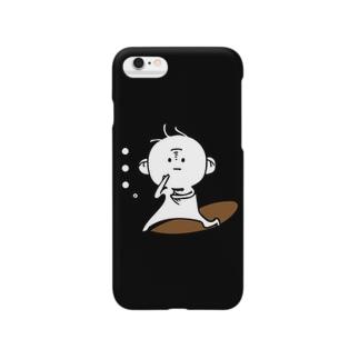 三つ毛のあかさん Smartphone cases