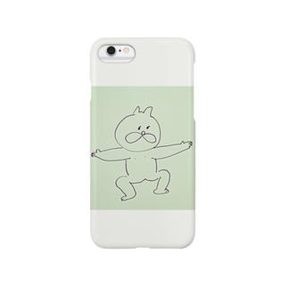 どすこい ねこ Smartphone cases