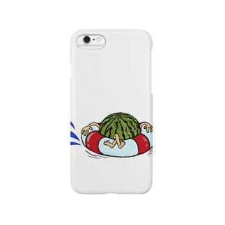 冷やしスイカ Smartphone cases