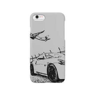 Zと飛行機 Smartphone cases