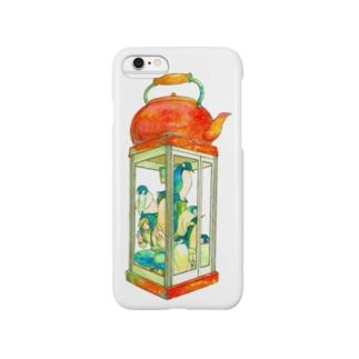 南極ストウブ② Smartphone cases