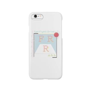 FRR(英語ロゴのみ/あわいver.) Smartphone cases