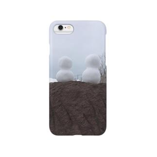 ゆきだるま Smartphone cases