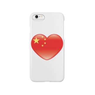 Chinese_heart_flag Smartphone cases