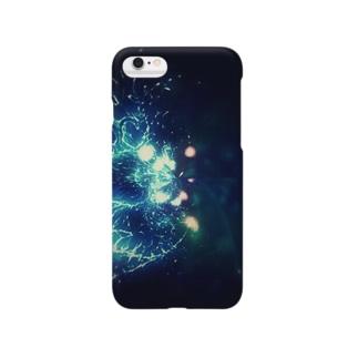 夜クラゲ/ケース Smartphone cases