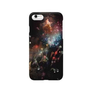 iPhoneケース「夏と銀河」 Smartphone cases