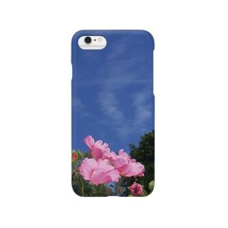 芙蓉 DATA_P_133 Confederate Rose ハスの花の古名 Smartphone cases