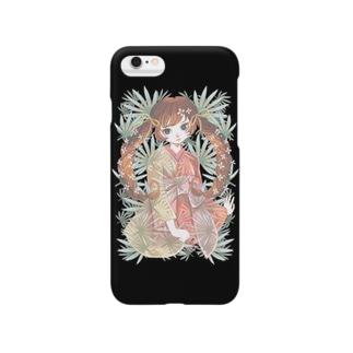 シュロと女の子 Smartphone cases