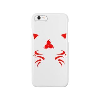 妖狐_赤 Smartphone cases