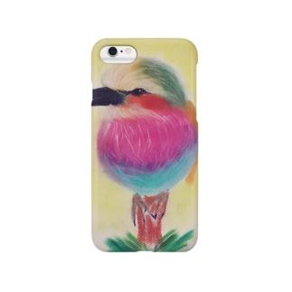 ライラックニシブツポウソウ Smartphone cases