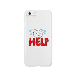 くまさんのスマホケース Smartphone cases