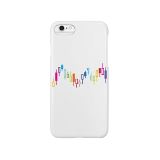 ローソク足 Smartphone cases