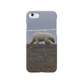白熊! Smartphone cases