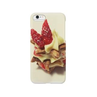 苺のパイ Smartphone cases
