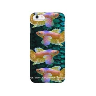 レインボーベタ Smartphone cases