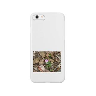 山道に咲く花 Smartphone cases