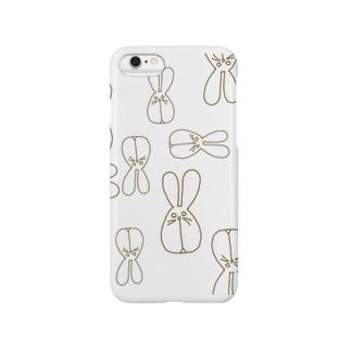 白目ウサギ Smartphone cases