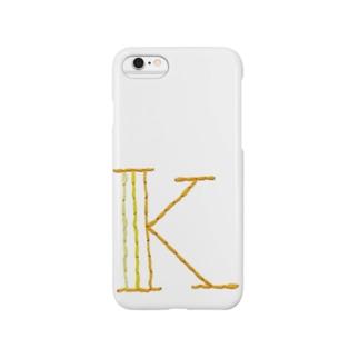 embroideryprint_K Smartphone cases