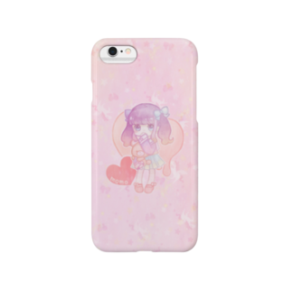 ChocoLapinのゆめかわいい(ピンク) スマートフォンケース
