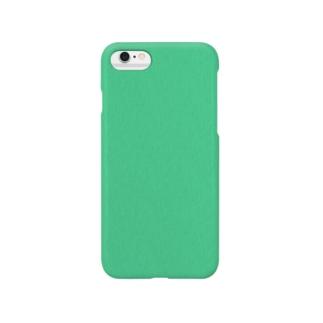 シンプルに。それだけここと。エメラルドグリーン。 Smartphone cases