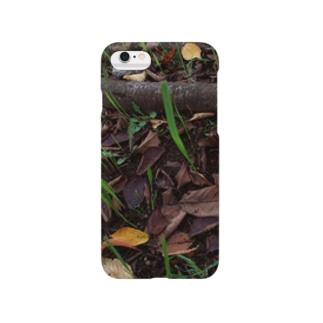 落ち葉と根 DATA_P_138 Smartphone cases