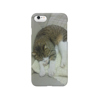 ぼくは地面を泳ぐネコの「zzz」  Smartphone cases
