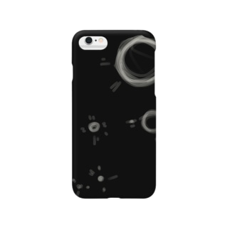 月のクレーター Smartphone cases