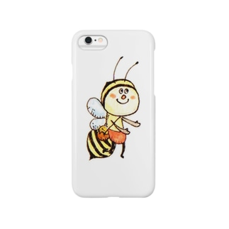 BEE shopのみつばち① Smartphone cases