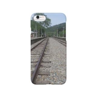 TAIWANの観光地 線路 Smartphone cases