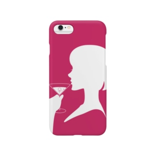 ロゴ スクエア Smartphone cases