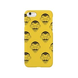 4つめのおじさん Smartphone cases
