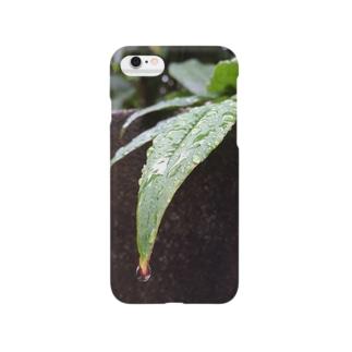 雨の雫 Smartphone cases