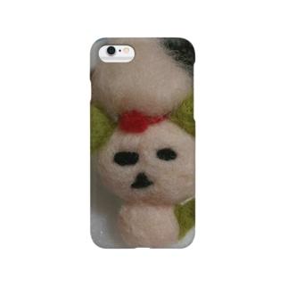 羊毛の犬 Smartphone cases