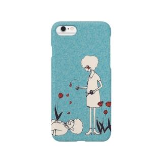 一輪の花から Smartphone cases
