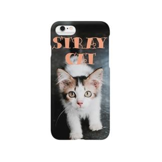 迷い猫デザイン Smartphone cases