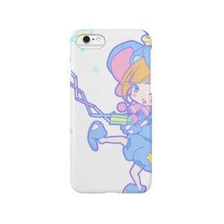 おけしまさん(あお) Smartphone cases