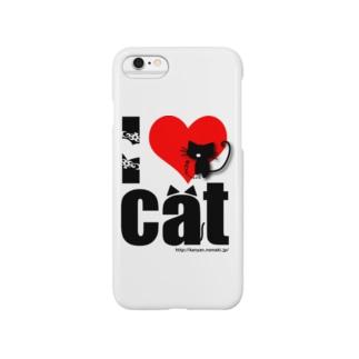 I♡CAT Smartphone cases