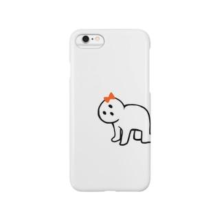 こっちみんな Smartphone cases