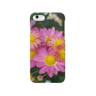 菊が咲く DATA_P_142 Smartphone cases