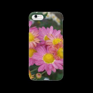 菊が咲く DATA_P_142 スマートフォンケース